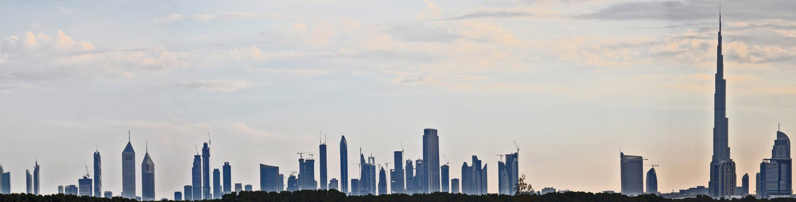 Dubai Skyline clear2